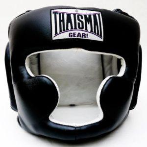 ThaiSmai Black Head Guard Chin and Cheek Protection